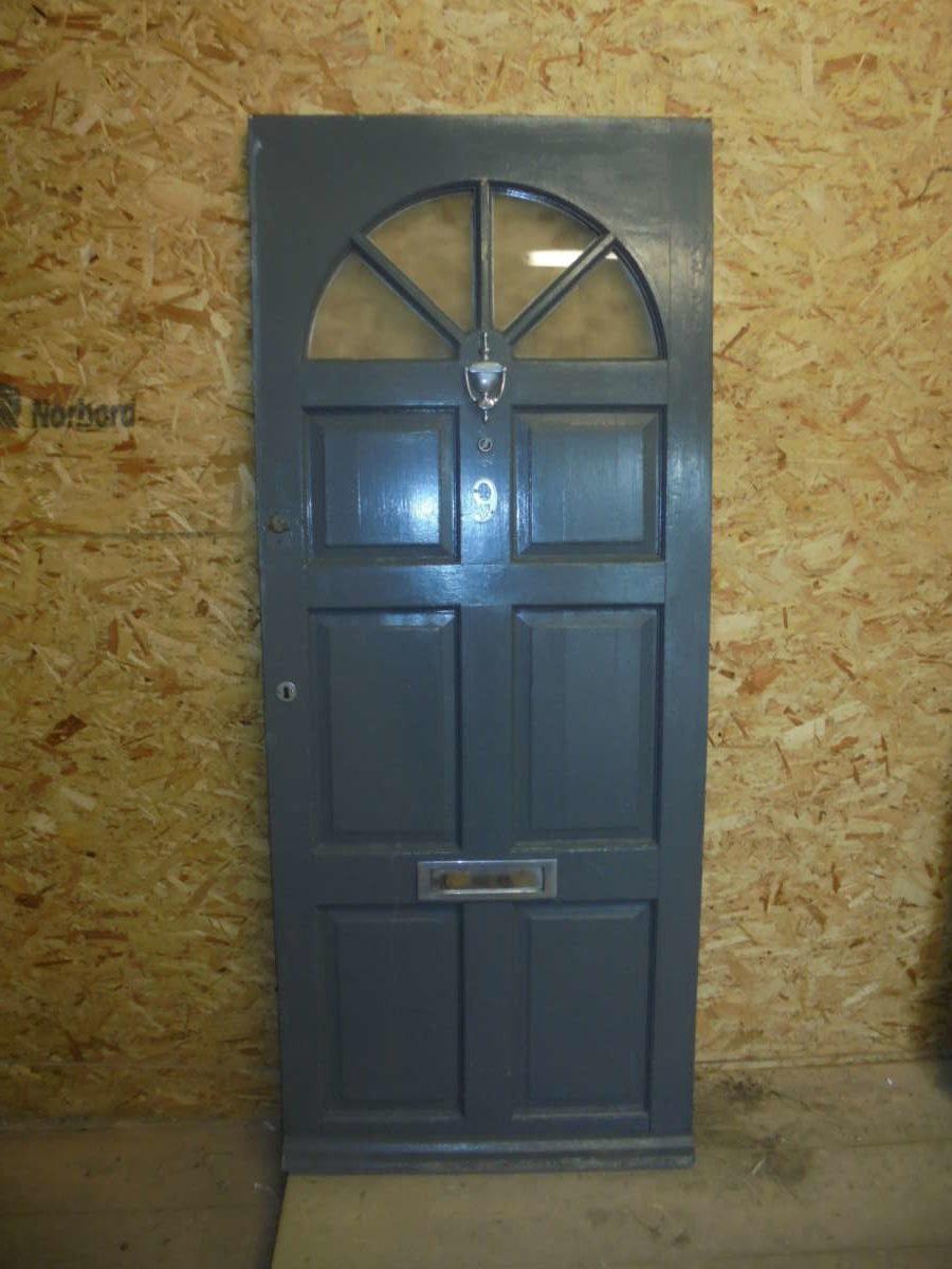 Reclaimed 6 panel front door