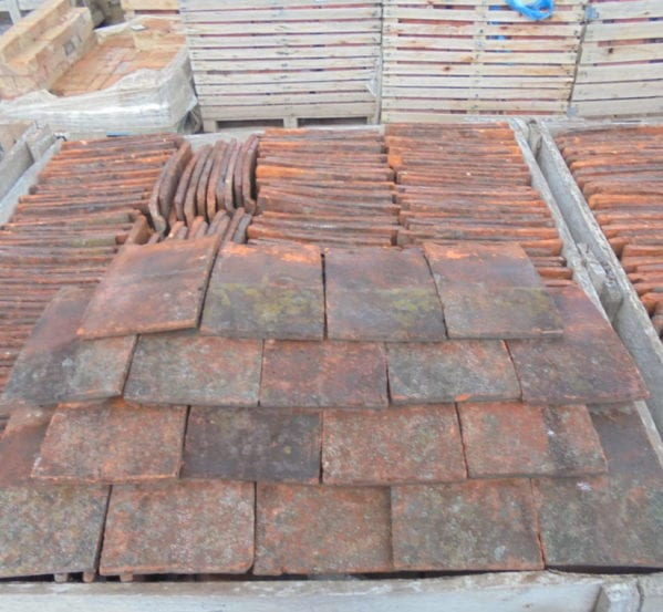 Reclaimed Clay Roofing Nib Tiles