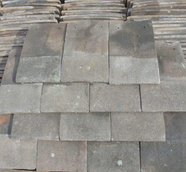 Dark Handmade Nib Tiles