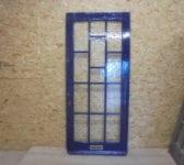 Fully glazed front door