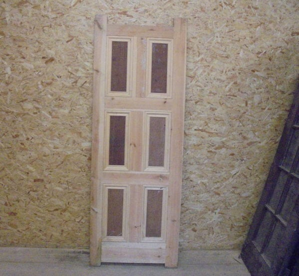 Victorian style 6 panel new door