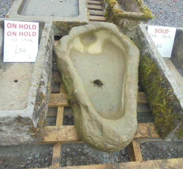 tomb shape trough