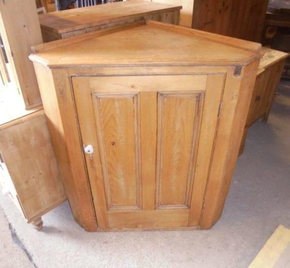 antique corner cabinet