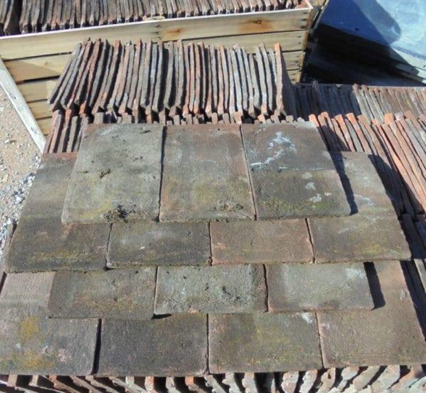 Dark Handmade Keymer Tiles