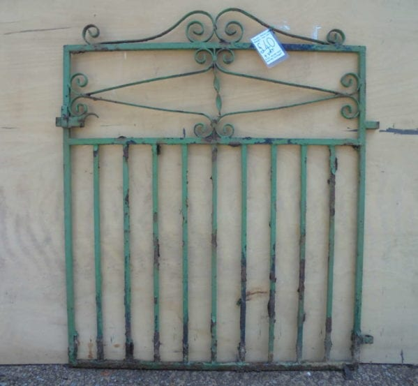 Small Reclaimed Wrought Iron Gate