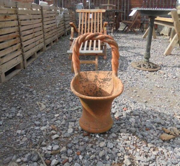 Small Reclaimed Terracotta Basket