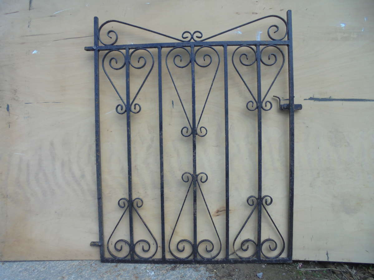 Small Single Wrought Iron Gate