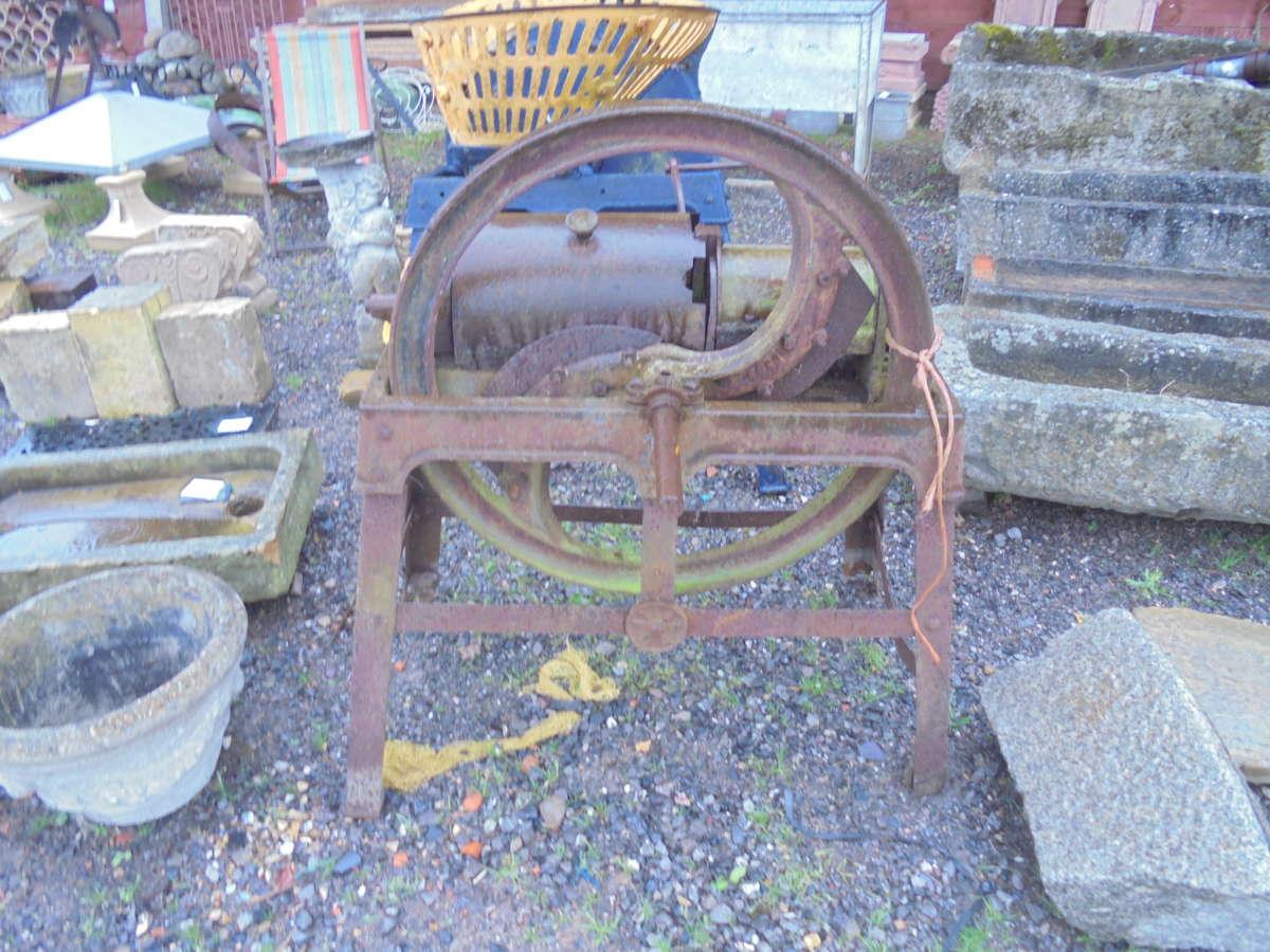 Reclaimed Manual Farm Equipment
