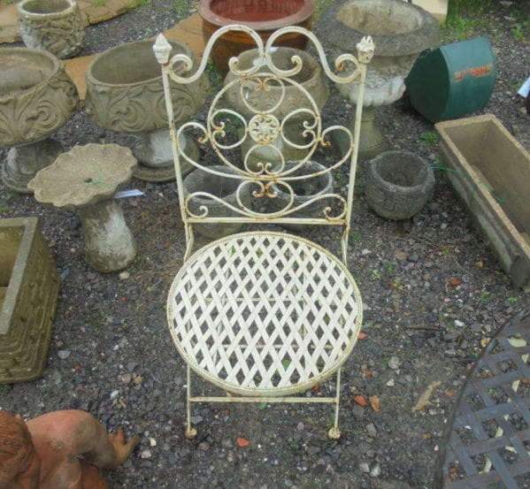 Small Reclaimed Garden Chair