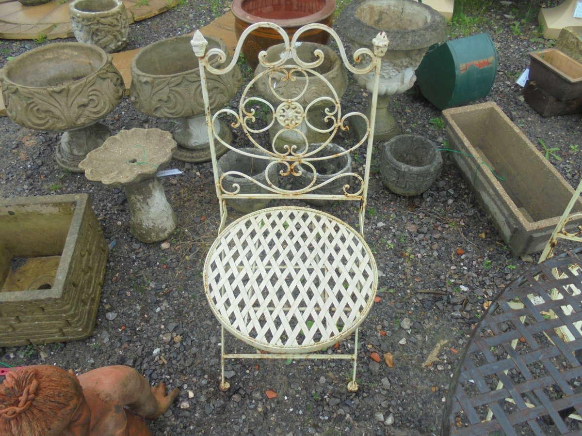 Small Reclaimed Garden Chair
