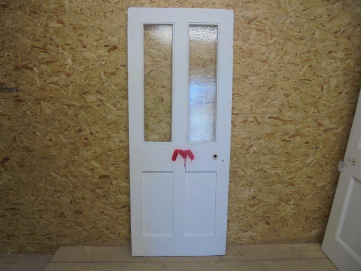 Reclaimed Half Glazed Door
