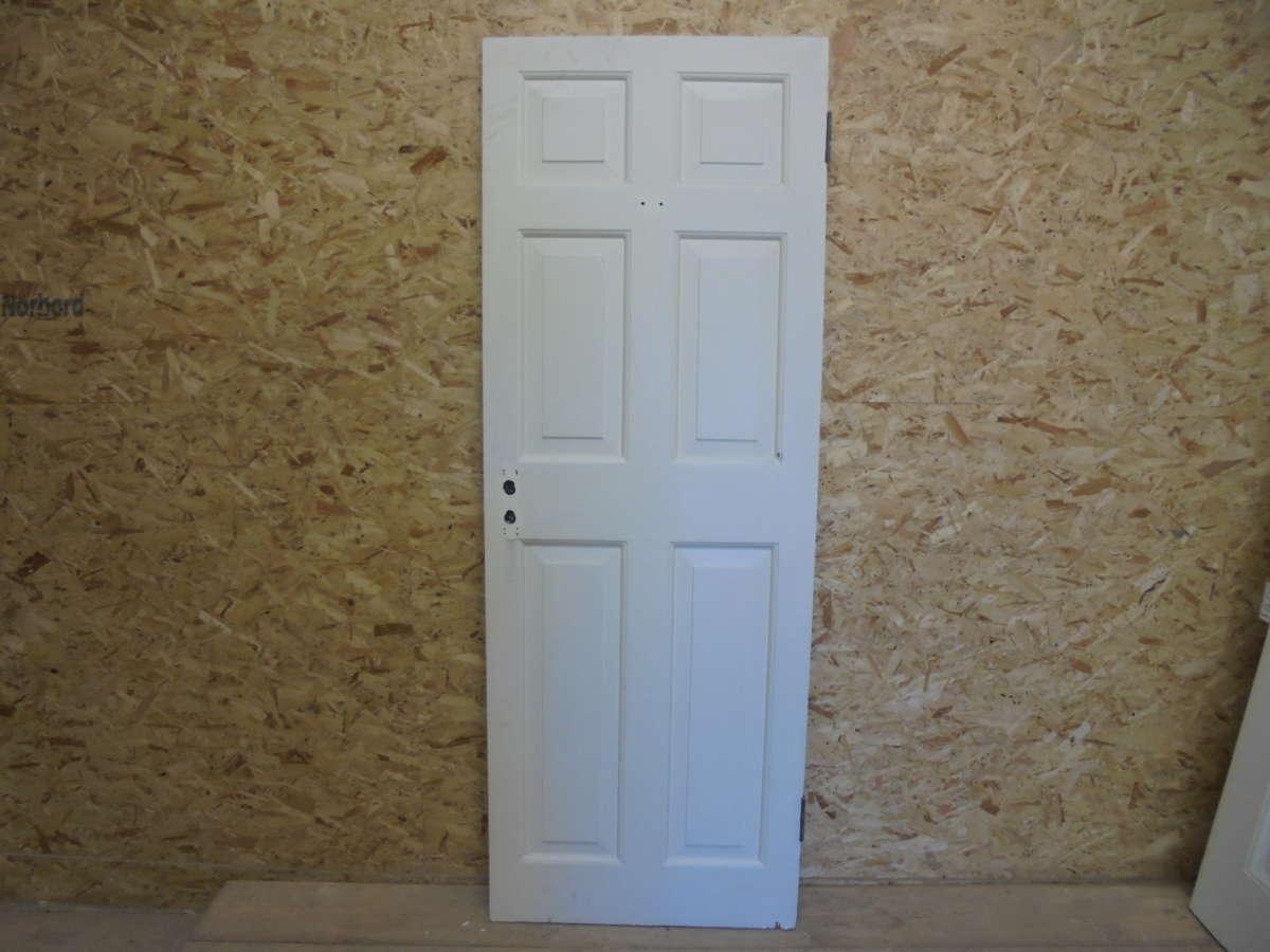 Reclaimed 6 Panel Painted Door