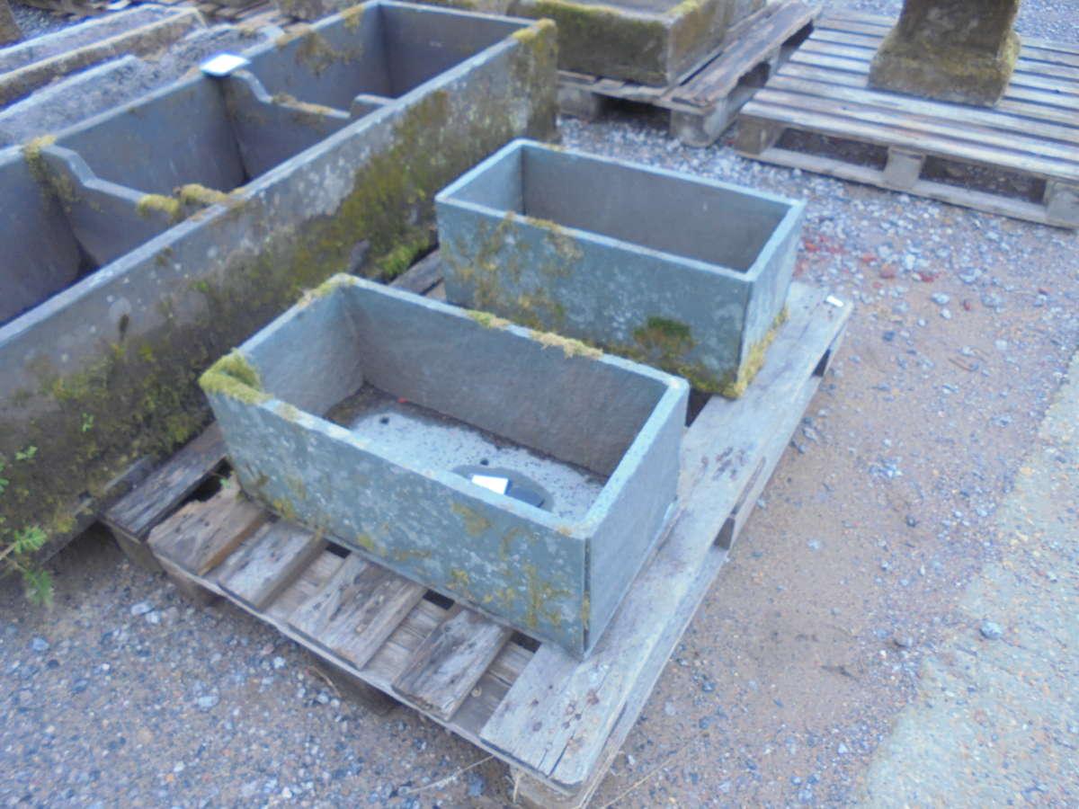 slate troughs