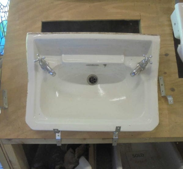 Reclaimed twyfords bathroom sink