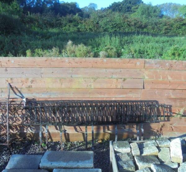 Low Wrought Iron Railing