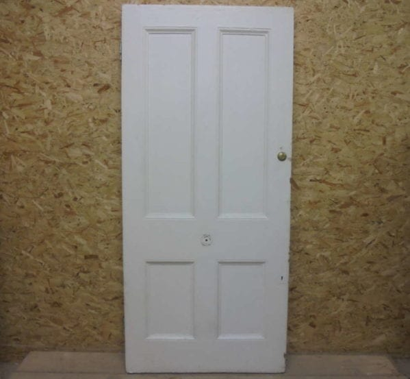 Reclaimed Painted 4 Panel Front Door