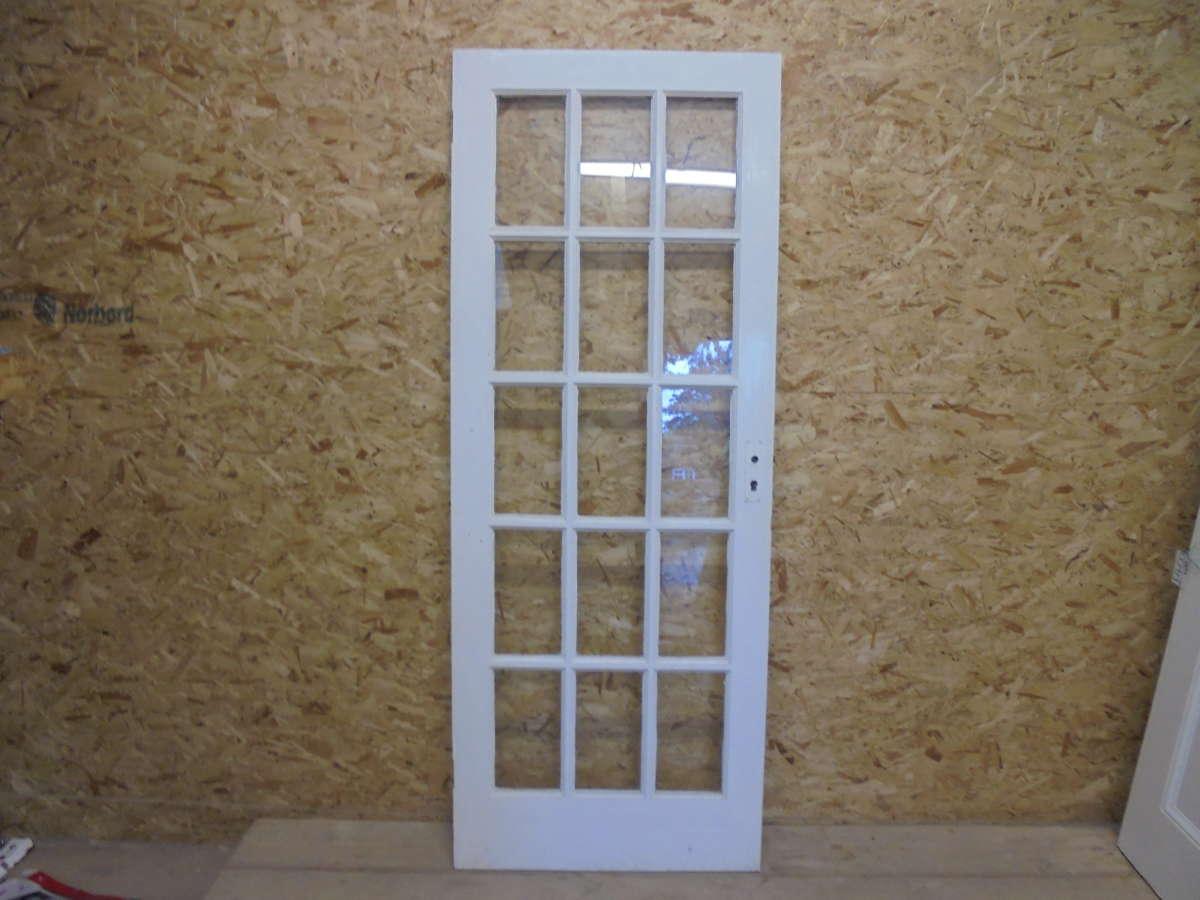Reclaimed Glazed Door