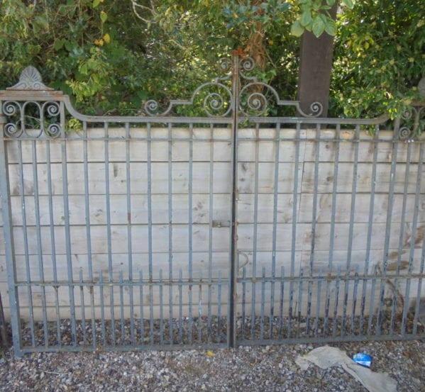 Large Wrought Double Iron Gates