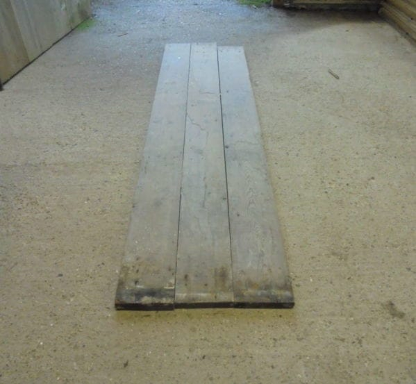 Narrow 4 7/8 Inch Reclaimed Floorboards