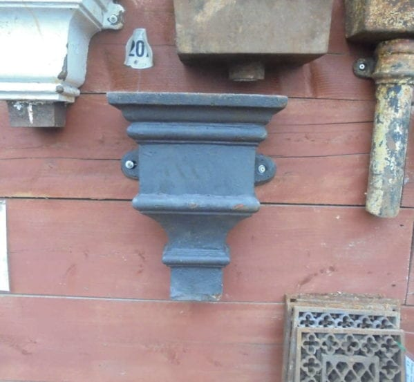 LARGE RECLAIMED CAST IRON HOPPER