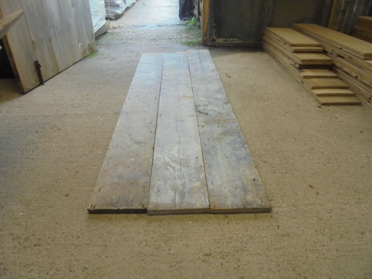 Wide 8 5/8 Inch Reclaimed Floorboards
