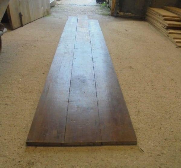 Varnished 6 1/4 Inch Reclaimed Floorboards