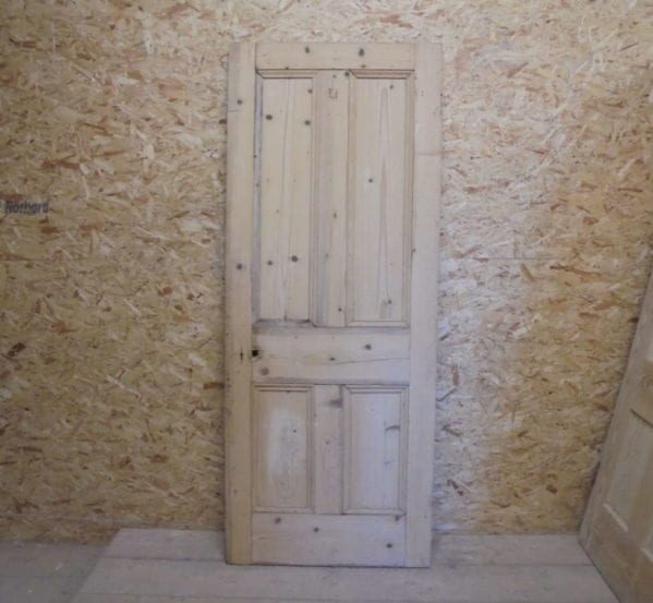 Discounted Stripped 4 Panelled Door