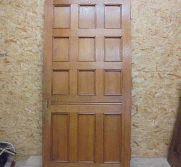 Oak Large 12 Panel Door