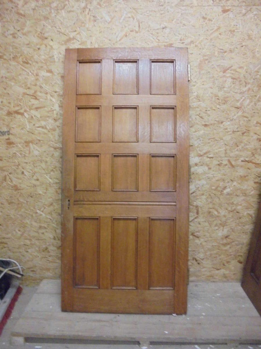 Oak Large 12 Panel Door