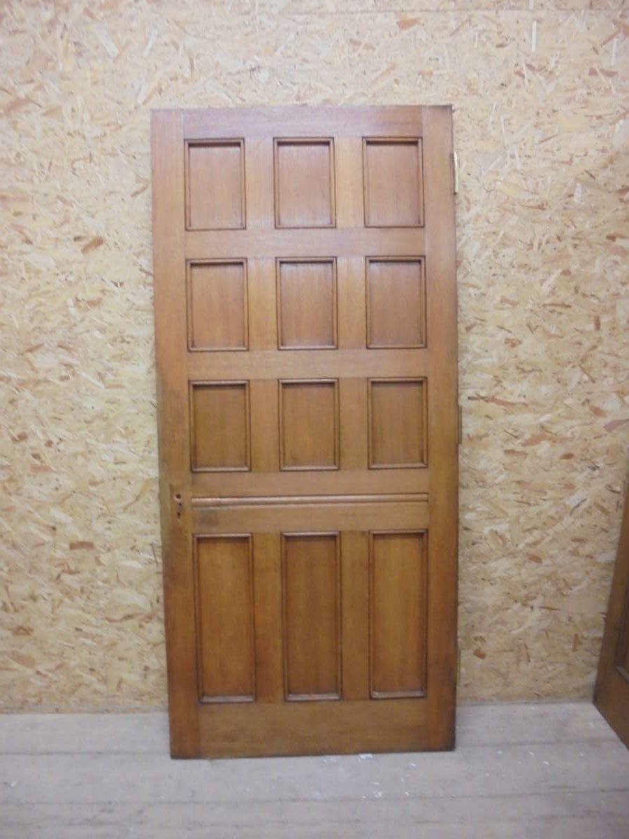 Fox Blood Oak 12 Panel Door