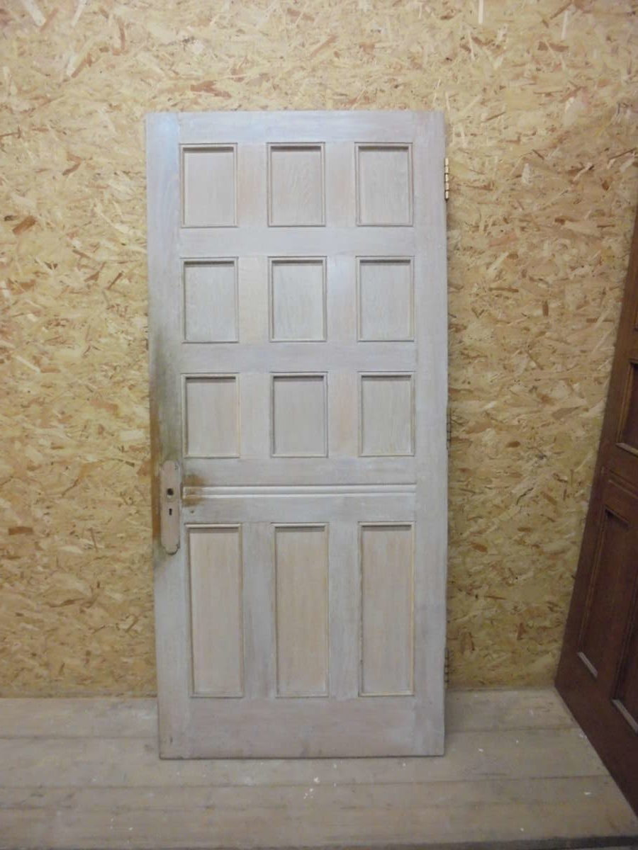 Reclaimed 12 Panel Oak Door