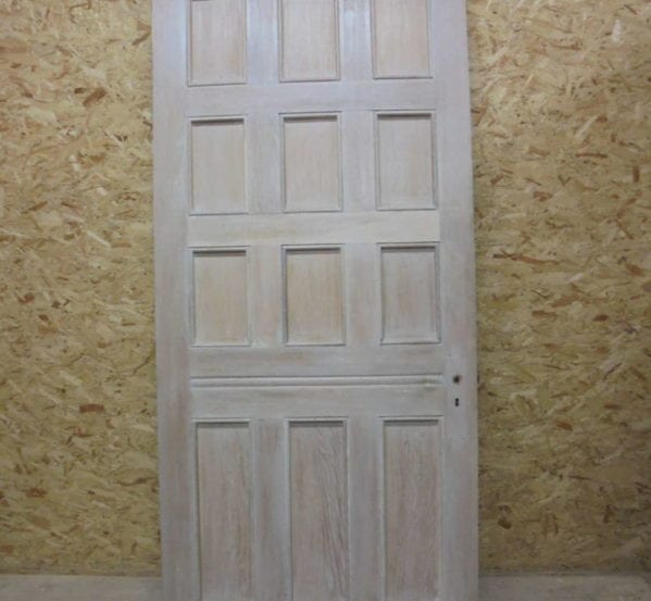 12 Panel Oak Door-Water Resistant Coat