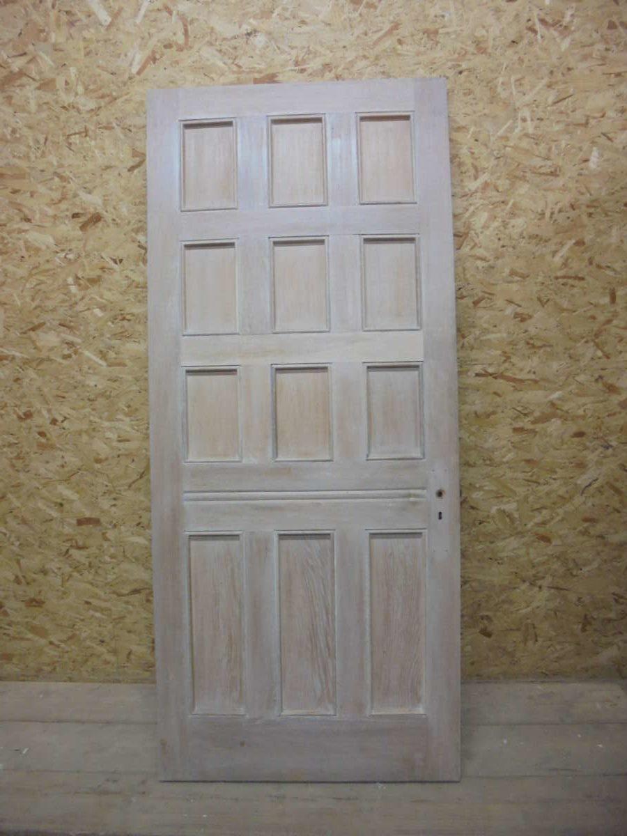 12 Panel Oak Door-Water Resistant Coat