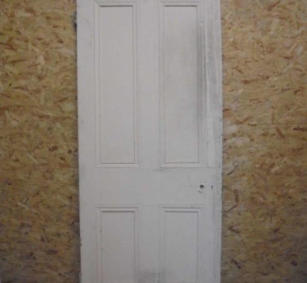 Large Victorian 4 Panelled Door