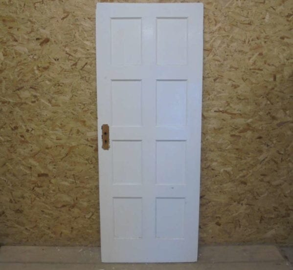 8 Panelled Door Painted White