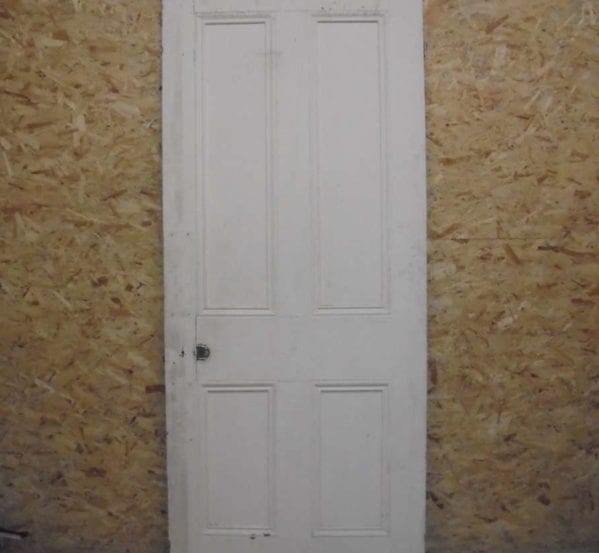 4 Panelled Door Large White
