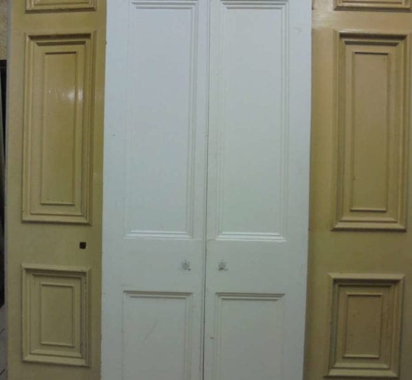 White Victorian Double Doors