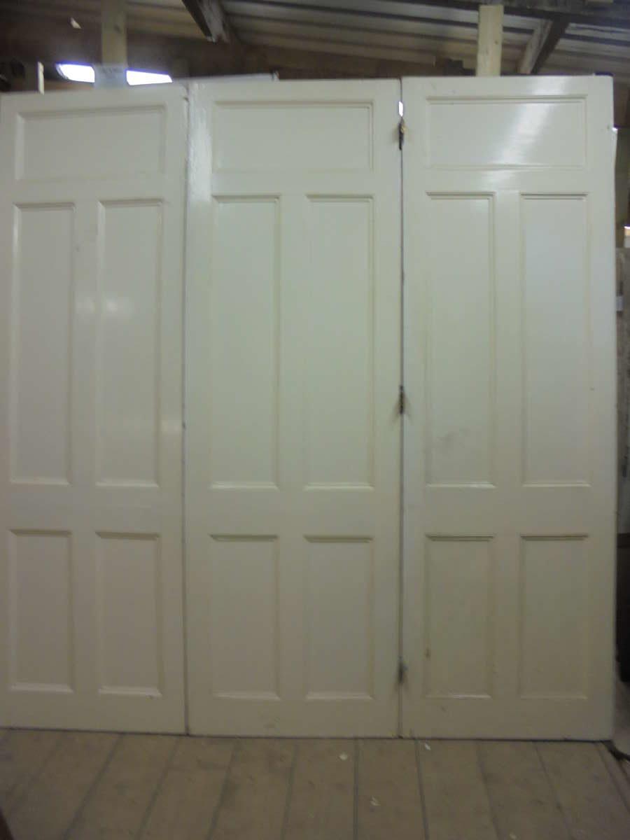 Grand Victorian Triple Hinged Doors