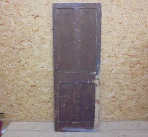 Half Stripped Medium 4 Panelled Door