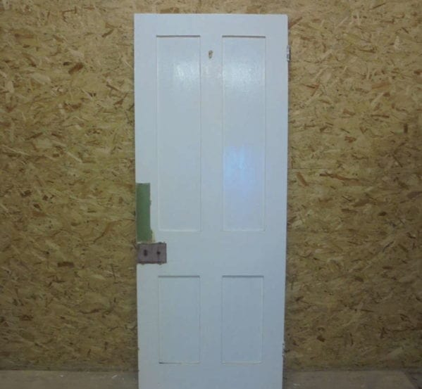 Smooth Painted 4 Panelled Door