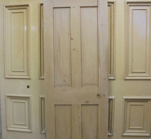 Smooth Finish Stripped 4 Panel Door