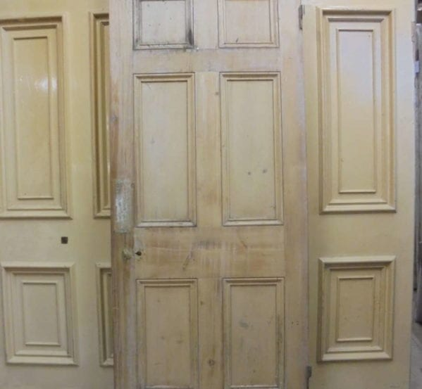 Stripped Large 6 Panelled Door