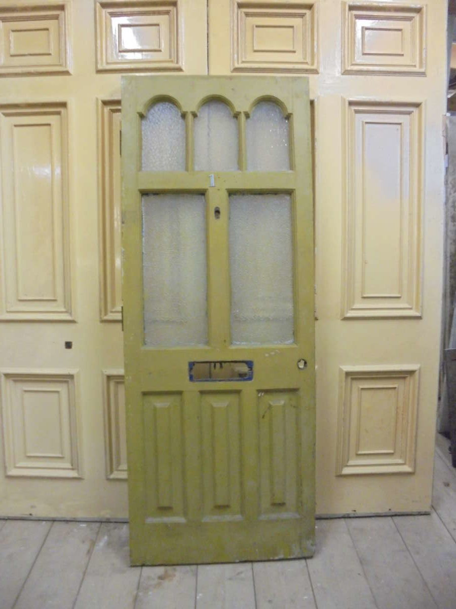 Green Half Glazed Front Door