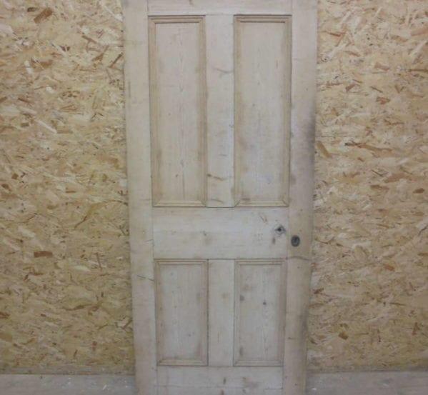 Medium 4 Panel Stripped Door