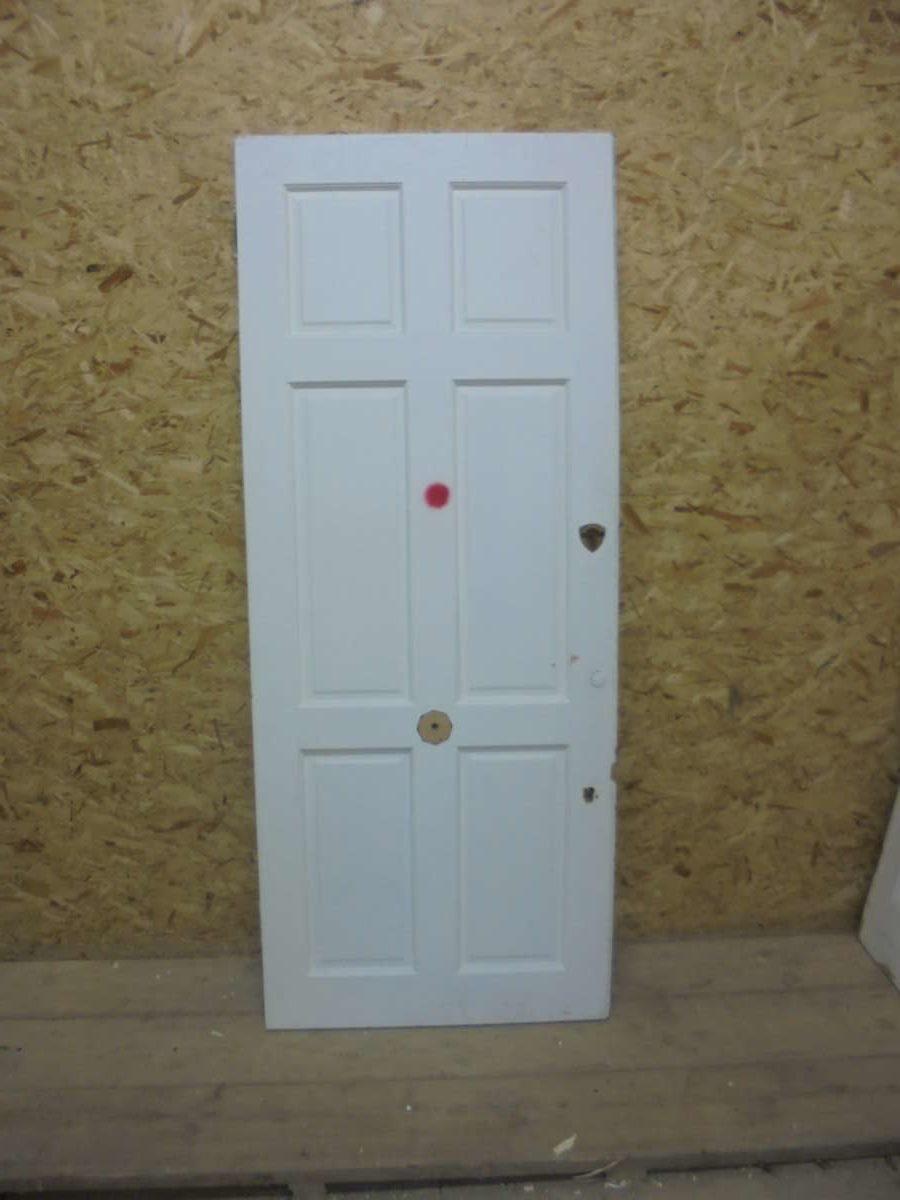 White Painted 6 Panel Door