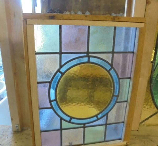 Stain Glass Window Circle Detail