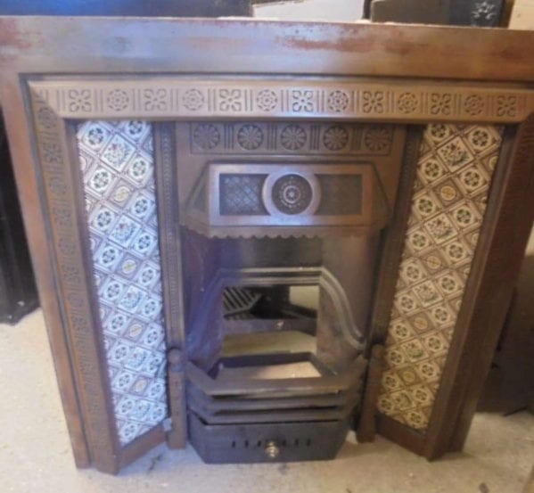 Decorative Tiled Reclaimed Fire Insert