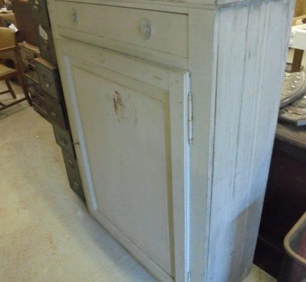 Painted Cupboard with Drawer