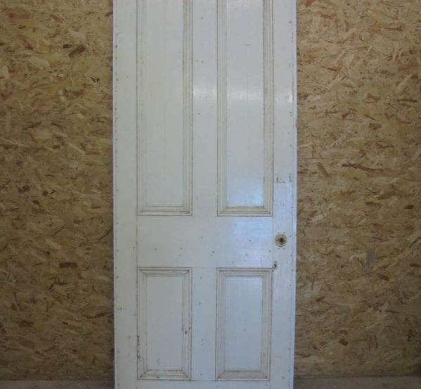 White Quad-inlay 4 Panel Door