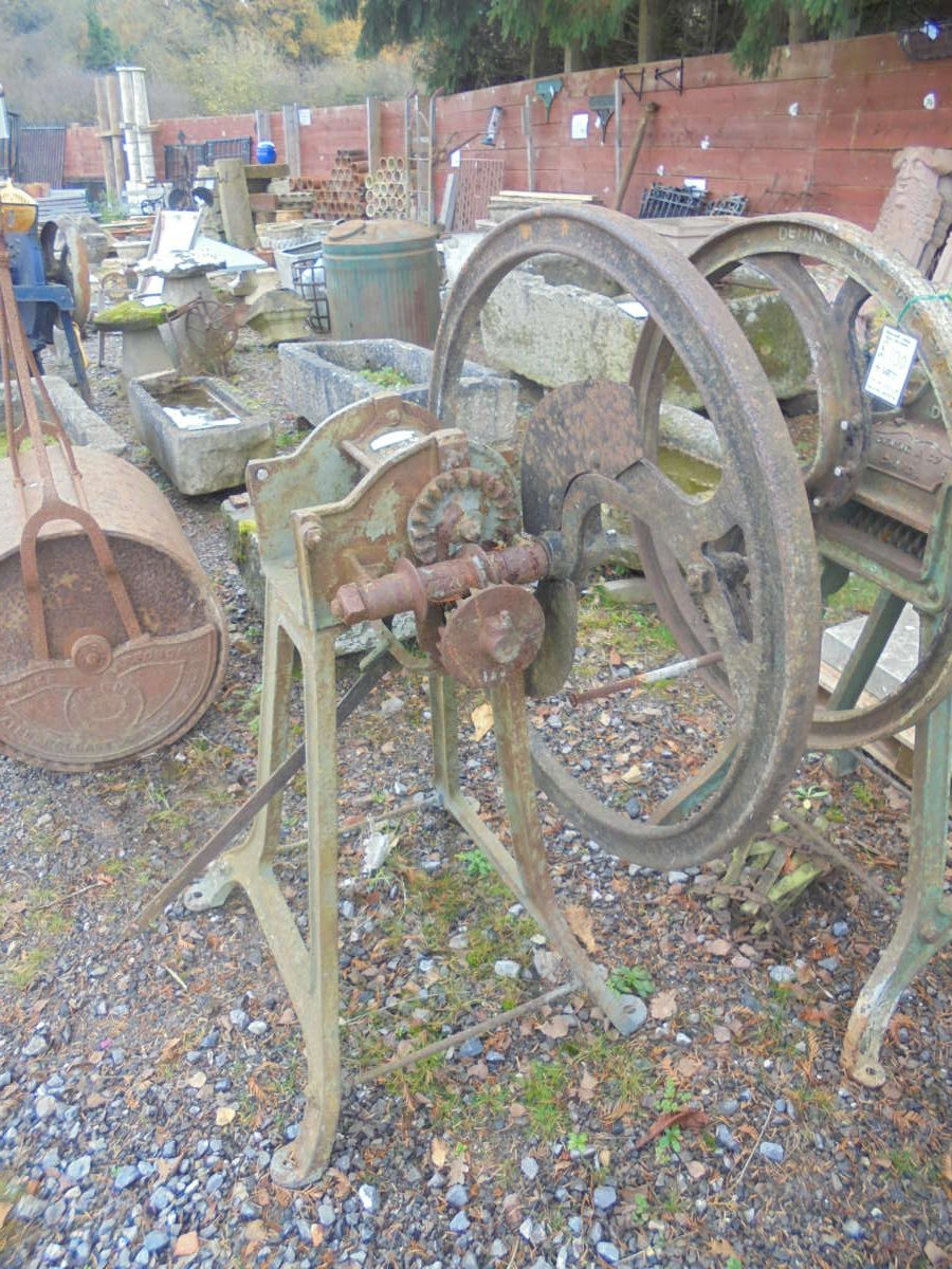 Reclaimed Metal Farm Equipment